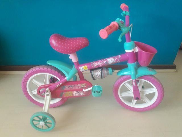 Bicicleta Barbie aro 12