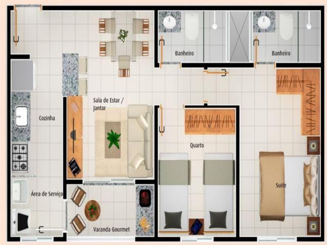 Apartamento à venda com 2 dormitórios em Vila rosa, Goiânia cod:AL1122 - Foto 17