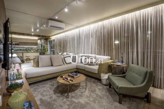 Apartamento com 3 dormitórios à venda, 84 m² por R$ 524.000,00 - Setor Oeste - Goiânia/GO
