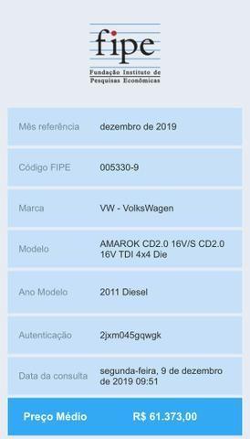 Vendo ou troco Amarok Diesel - Foto 8