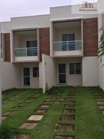 Casas duplex em condominio no eusebio com 3 quartos e lazer - Foto 3