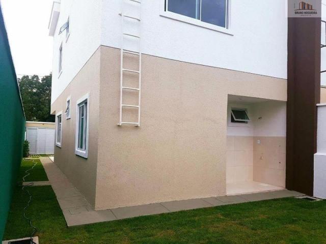 casa duplex em rua privativa no eusebio proxima ao centro - Foto 4