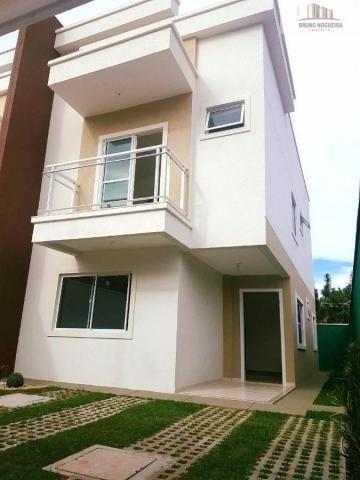 casa duplex em rua privativa no eusebio proxima ao centro - Foto 2