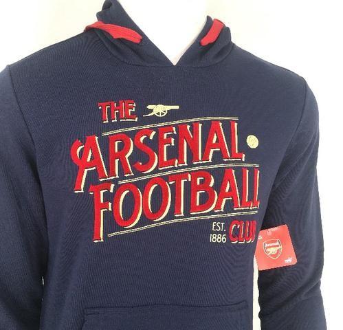 005 - Moletom Agasalho Arsenal Puma Camisa Oficial Inglaterra Futebol Inglês - Tam P