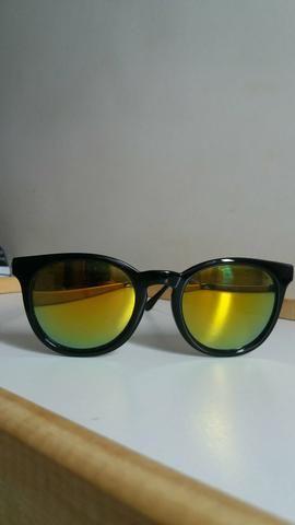 Óculos de Sol Unissex Espelhado Amarelo (Original marca  ATITUDE ... 8b32627f4b