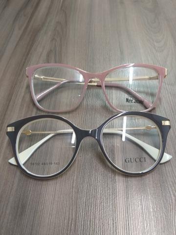 Armação para óculos de grau Nova - Bijouterias, relógios e ... 09c8c2ccaf