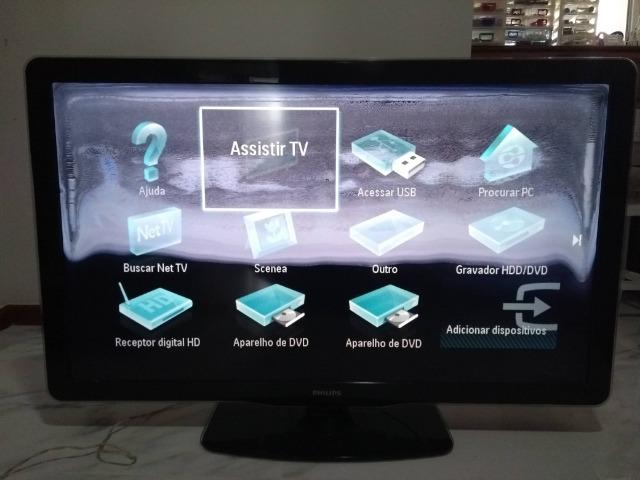 Televisão Philips Ambilight 47 Polegadas (Com Defeito na Tela)