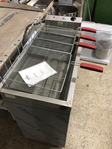 Fritadores /frituras - industriais água e óleo / elétrico ou gás / - a partir r$ 2290,00 - Foto 2