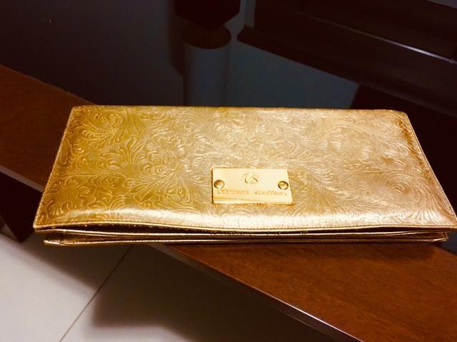 9ba67140a Bolsa carteira social dourada - Bolsas, malas e mochilas - Ponta D ...