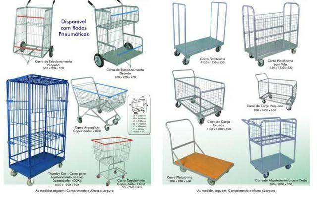 Carrinhos para Supermercados - Foto 5