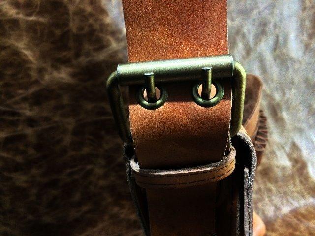 Bolsa em couro legítimo , tipo velho oest - Foto 4