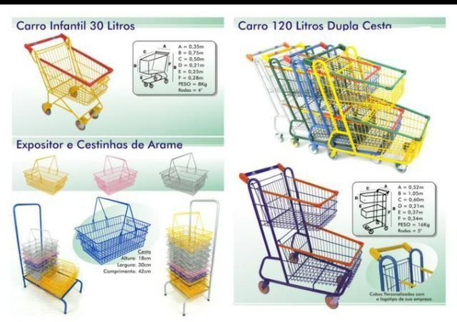 Carrinhos para Supermercados - Foto 4