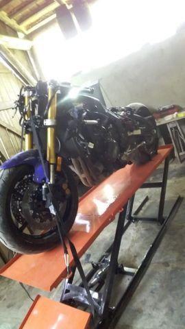 Elevador de motos 350 kg de fabrica - Foto 8