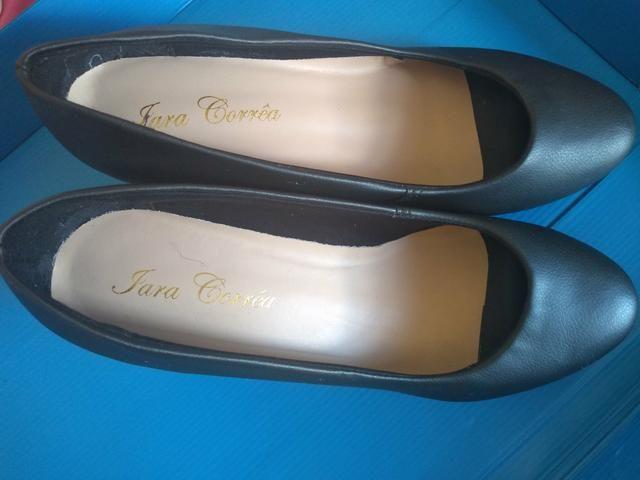 Sapato preto feminino - Foto 3