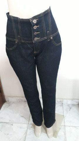 Calça jeans cós alto 42/44