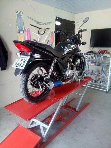 Elevador de motos 350 kg de fabrica - Foto 11