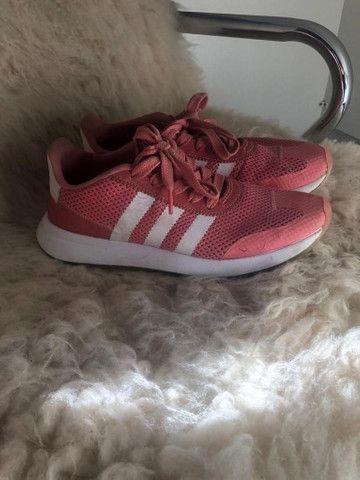 Tênis Adidas Rose pouco uso - Foto 2