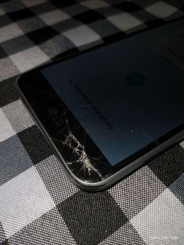 LG K10 tela quebrada - Foto 2