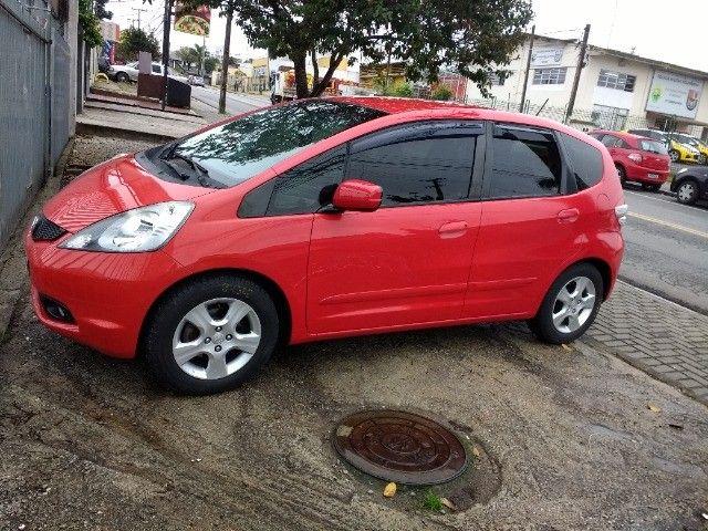 Vendo Honda fit 2009 vermelho 31 mil - Foto 8