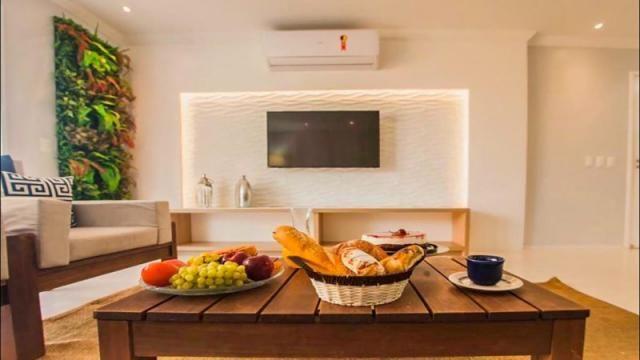 Wellness Beach Park Resort - Apartamento á Venda com 4 quartos, 2 vagas, 121m² (AP0381) - Foto 3