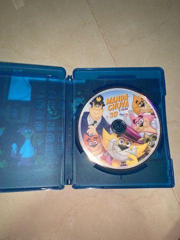DVD Blu-ray 3D Manda-chuva o filme - Foto 2
