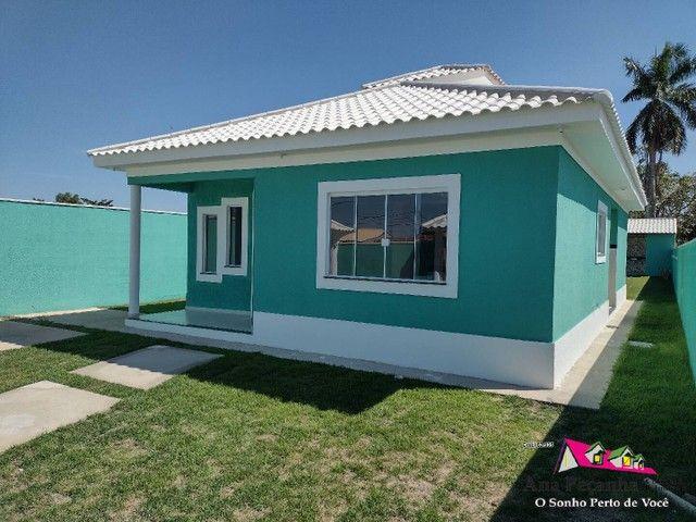 Lindíssima Casa, 3 dormitórios e Terreno Grande em Itaipuaçú! - Foto 2
