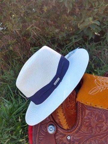 Chapéu Casual Shantung para Passeio ou Cavalgada Original - Foto 2