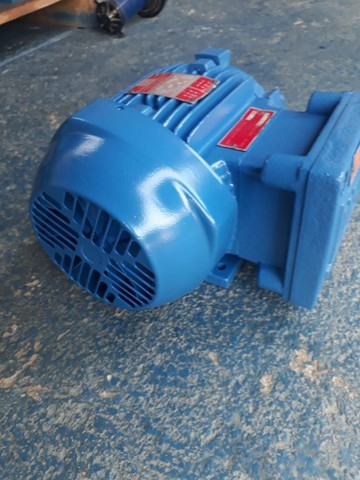 Motor elétrico trifásico 0.5 cv rpm 850 à prova de explosão. - Foto 2