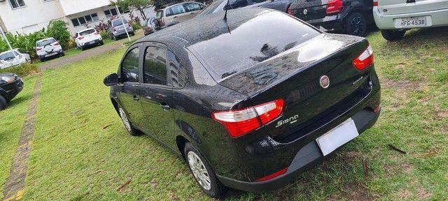 Grand Siena GNV geração 5, chave reserva,manual  nota fiscal de fábrica ?único dono. - Foto 3