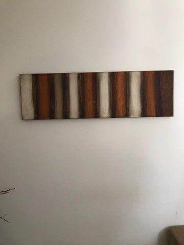Sofá, tapete, quadro, 3 capas de almofada  - Foto 4