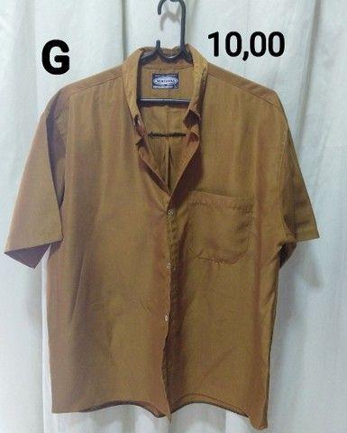 Camisa social G