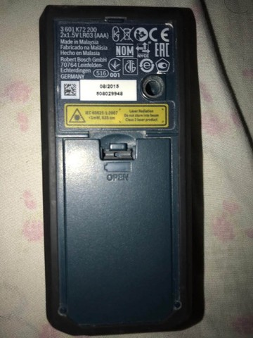 Trena á Laser Bosch GLM-50 - Foto 3