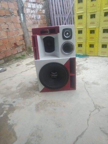 Vendo  projeto caixa Bob  para alto falante de 15 - Foto 6