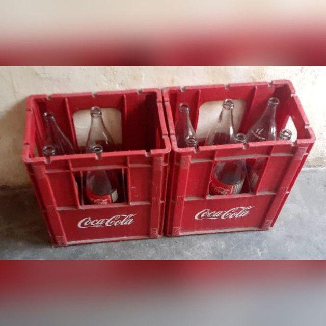 Vendo vasilhames de cerveja e de Coca
