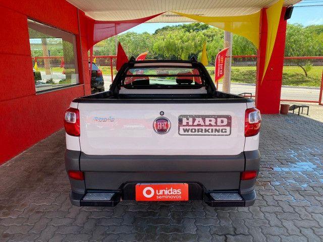 Fiat Strada CS Hard Working 1.4 Flex - 2020 - Completa (Ipva e transferência grátis) - Foto 5