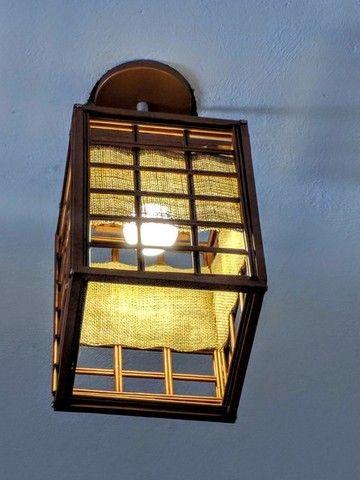 Luminária Pendente Oriental - Foto 4