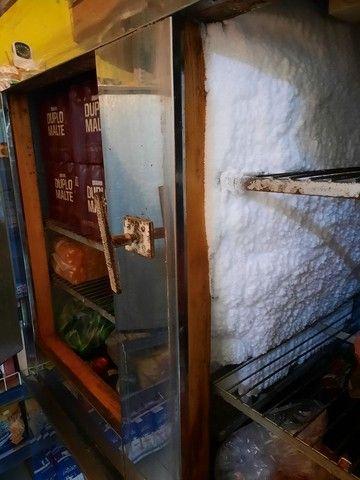 Geladeira inox 4 portas em bom estado - Foto 2