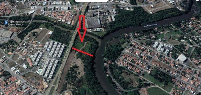 Terreno 17.430 m2 + 13,878 m2 de app - 160 m de frente pra Rodovia - Foto 2