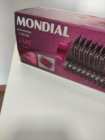 Escova secadora mondial super potente lacrada nova  - Foto 2