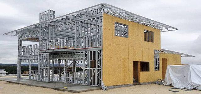 Steel Frame (CASAS AMERICANAS) (CASA EUROPEIA) melhor preço de Curitiba