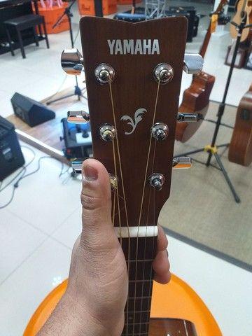 Violão Yamaha F310 novo com semicase novo - Foto 2