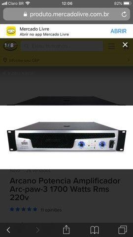 Amplificador arcano power 6 - Foto 3