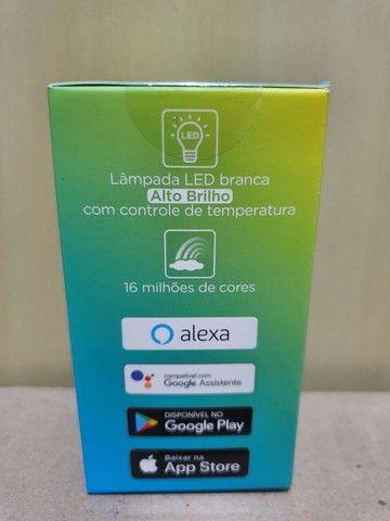 Smart lâmpada WiFi Positivo Casa Inteligente - Foto 3