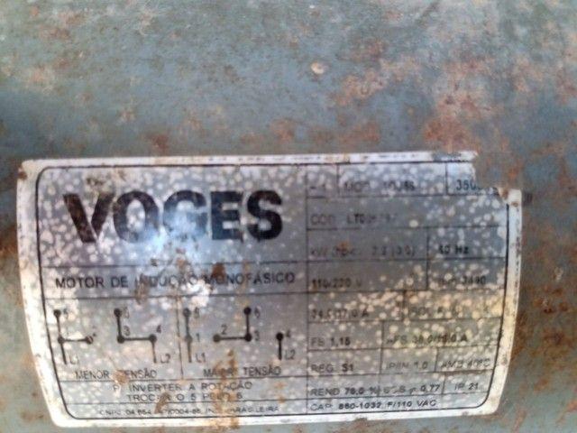 Motor de 3 CV monofásico - Foto 2