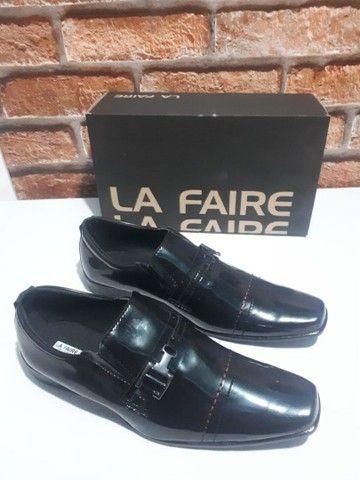 Sapato La Faire Couro Top! (38, 40, 41, 42, 44) - Foto 6