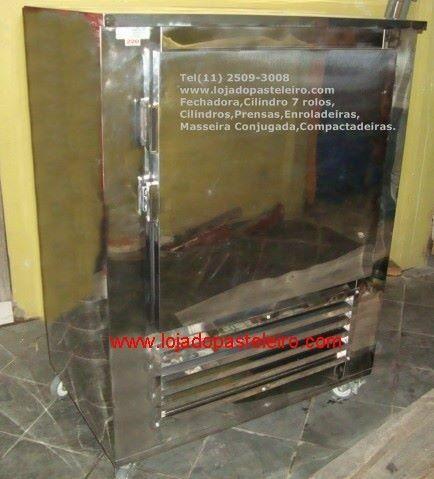 .Refrigerador para Pastéis Loja do Pasteleiro com gavetas * Peça Única  - Foto 6