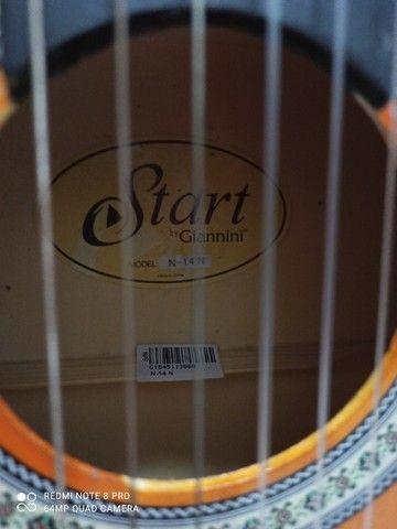 Violão Giannini Start n. 14 - pouquíssimo uso - Foto 3