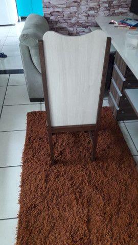 Vende se 6 cadeiras de madeira maciça( sucupira ) - Foto 6