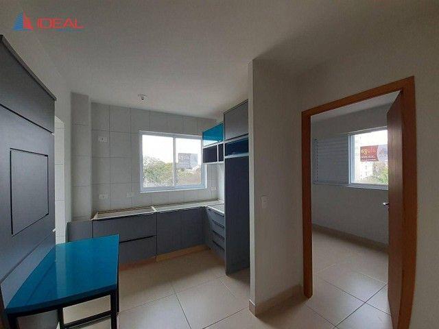 Apartamento com 1 dormitório para alugar, 27 m² por R$ 790,00/mês - Vila Esperança - Marin - Foto 3
