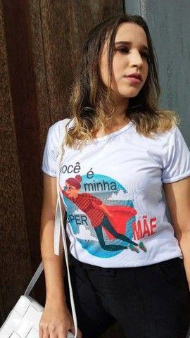 Camisas Personalizada Dia das Mães - Foto 3